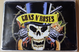 Metaalplaat Guns 'N Roses