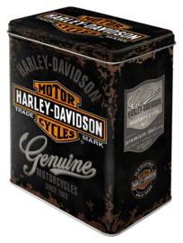 Voorraaddoos Harley Davidson Genuine