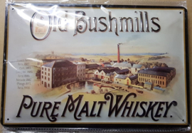 Metaalplaat Whiskey Old Bushmills