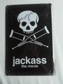 Metaalplaat Jackass The Movie