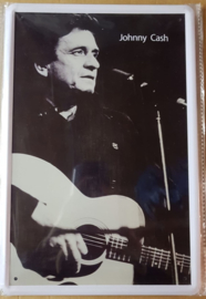 Metaalplaat Johnny Cash