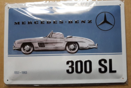 Metaalplaat Mercedes-Benz 300 SL