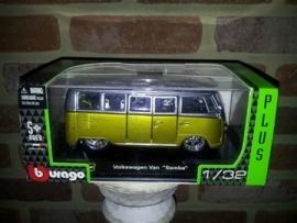 Schaalmodel Volkswagen Van Samba  1/32