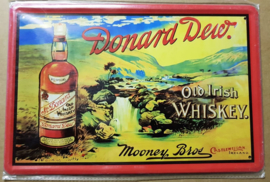 Metaalplaat Whiskey Donard Dew