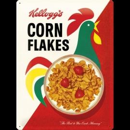 Metaalplaat Kellogg's Corn Flakes