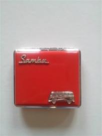 Sigarettendoos Volkswagen Samba Rood