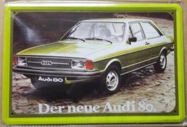 Metaalplaat Audi 80