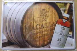 Metaalplaat Whiskey Macallan