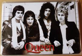 Metaalplaat Queen