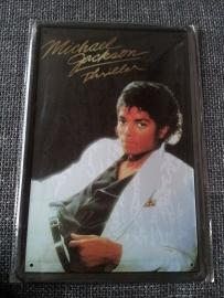 Metaalplaat Michael Jackson