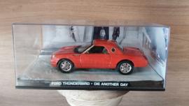 Schaalmodel Ford Thunderbird James Bond collectie 1/43