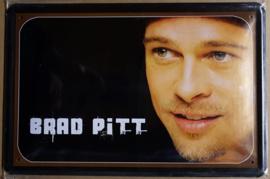 Metaalplaat Brad Pitt