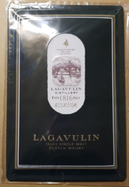 Metaalplaat Whiskey Lagavulin
