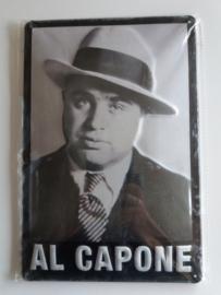 Metaalplaat Al Capone