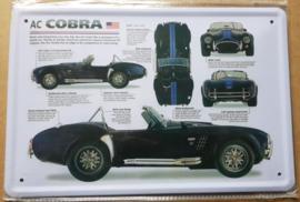 Metaalplaat AC Cobra