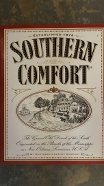 Metaalplaat Whiskey Southern Comfort