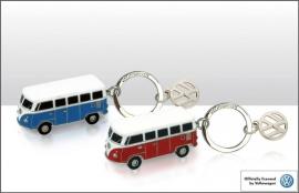 Sleutelhanger Volkswagen busje blauw