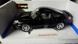 Schaalmodel Porsche 911 turbo 1/18