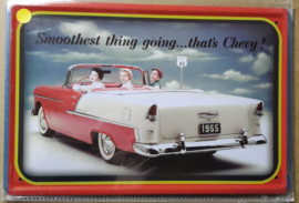 Metaalplaat Chevrolet Chevy