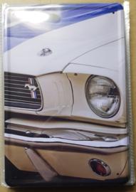 Metaalplaat Ford Mustang