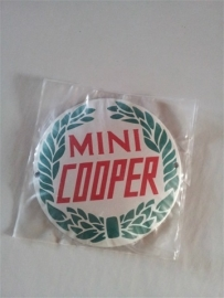 Logo/merk plaatje Mini Cooper