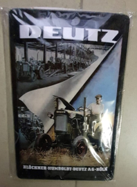 Metaalplaat Deutz