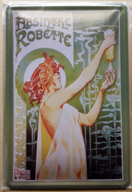 Metaalplaat Absinthe Robette