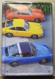 Metaalplaat Porsche