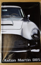 Metaalplaat Aston Martin DB5