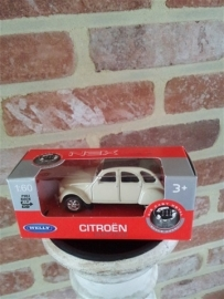 Schaalmodel Citroën 1/60 wit