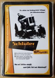 Metaalplaat Schlüter 40 PS Typ AS 320 S