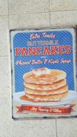 Metaalplaat Pancakes