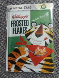 Metalen Postkaart Kellogg's Frosted Flakes