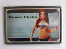 Metaalplaat Carmen Electra