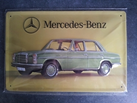 Metaalplaat Mercedes-Benz