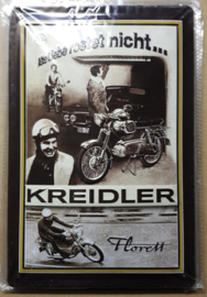 Metaalplaat Kreidler Florett