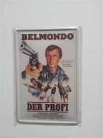 Metaalplaat Belmonde: Der Profi
