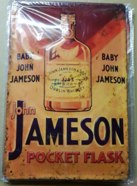 Metaalplaat Whiskey John Jameson