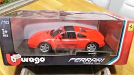 Schaalmodel Ferrari 348ts 1/18