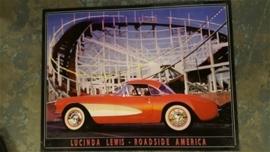 Metaalplaat Lucinda Lewis: Roadside America