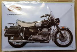 Metaalplaat Guzzi V850 California