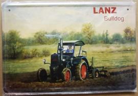 Metaalplaat Lanz Bulldog
