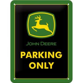 Metaalplaatje John Deere Parking Only