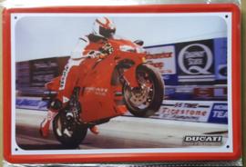 Metaalplaat Ducati