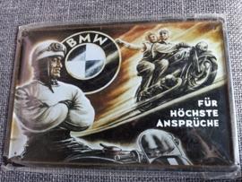 Metaalplaat BMW 20 x 30 cm