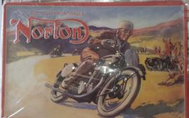 Metaalplaat Norton