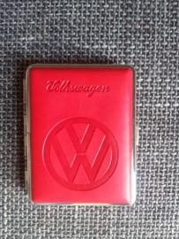 Sigarettendoos Volkswagen rood