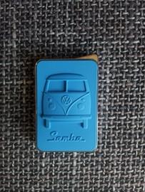 Aansteker VW Samba blauw