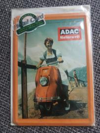 Metalen postkaart ADAC