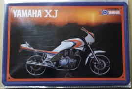 Metaalplaat Yamaha XJ